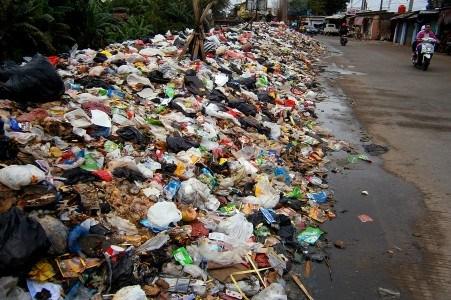 Contoh Sampah Anorganik Basah