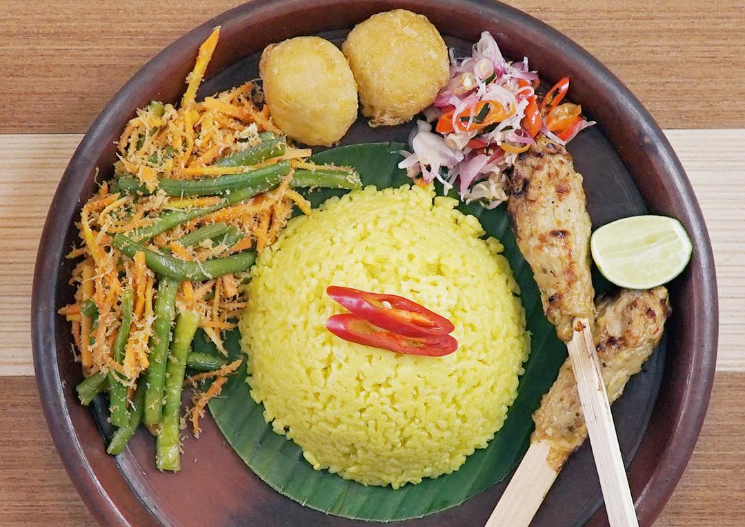 cara membuat nasi kuning mudah