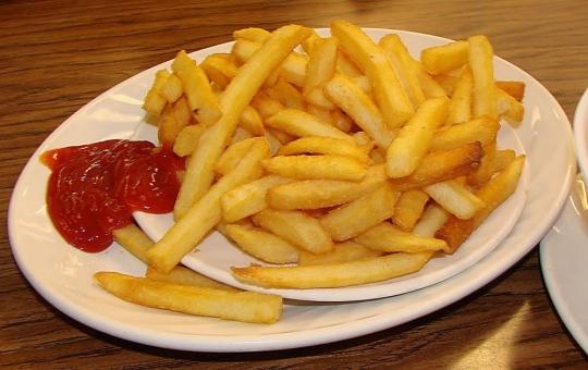 cara membuat kentang goreng krispy