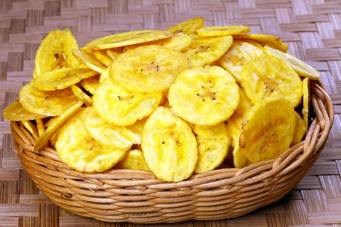 cara membuat keripik pisang asin