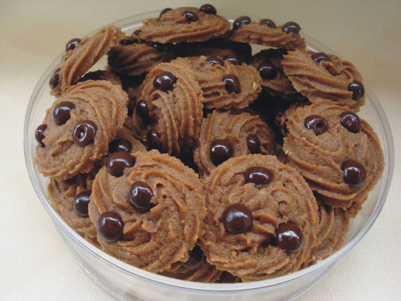 Resep Kue Kacang Coklat Praktis Yang Renyah Dan Enak