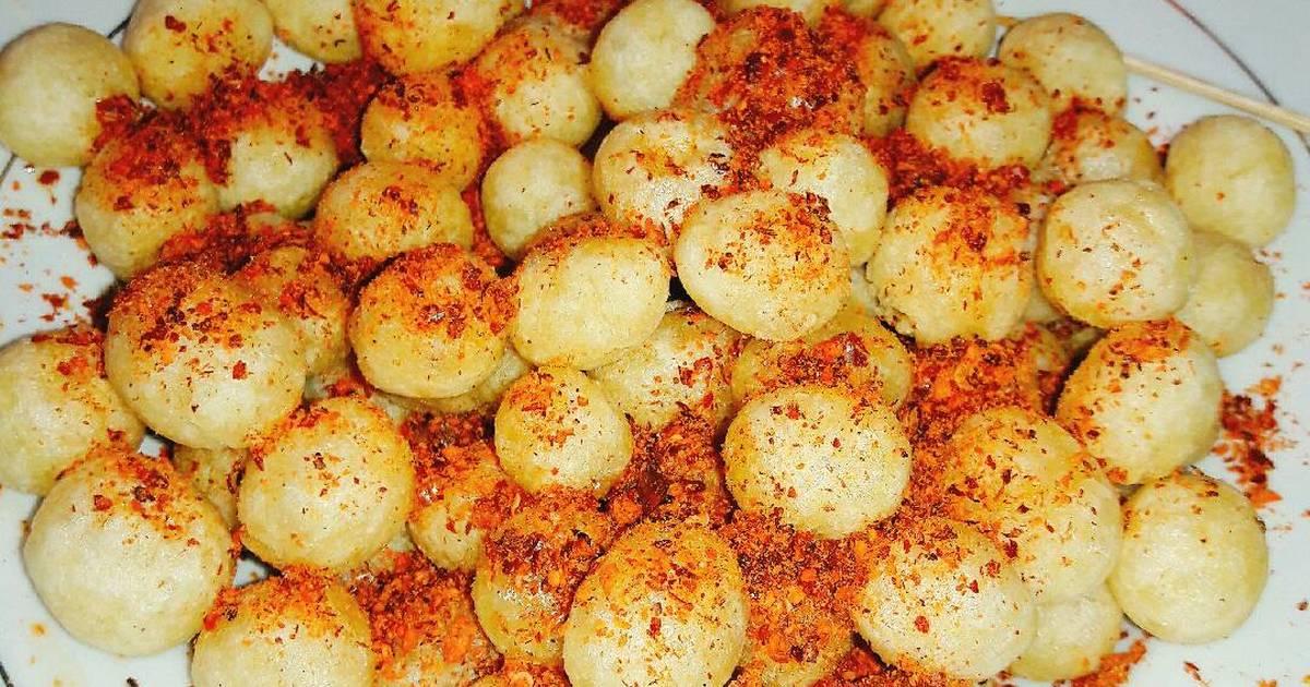 resep cimol goreng pedas