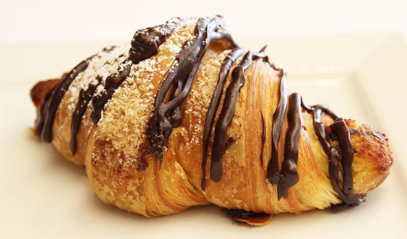 cara membuat croissant coklat