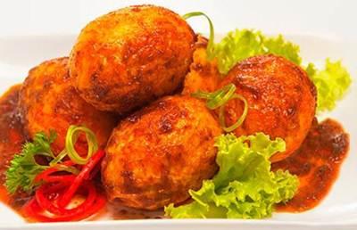 resep rendang ayam dan telur