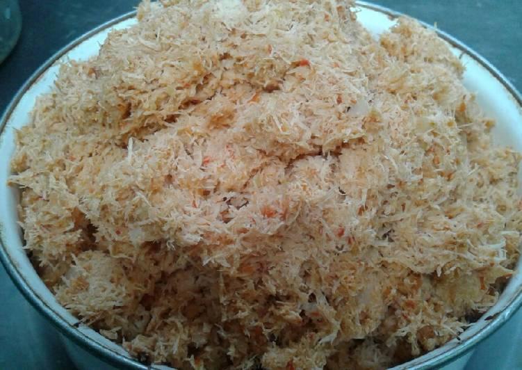 cara bikin sambal kelapa gula merah
