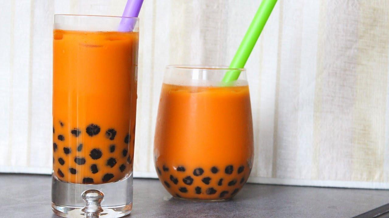 cara membuat thai tea milo