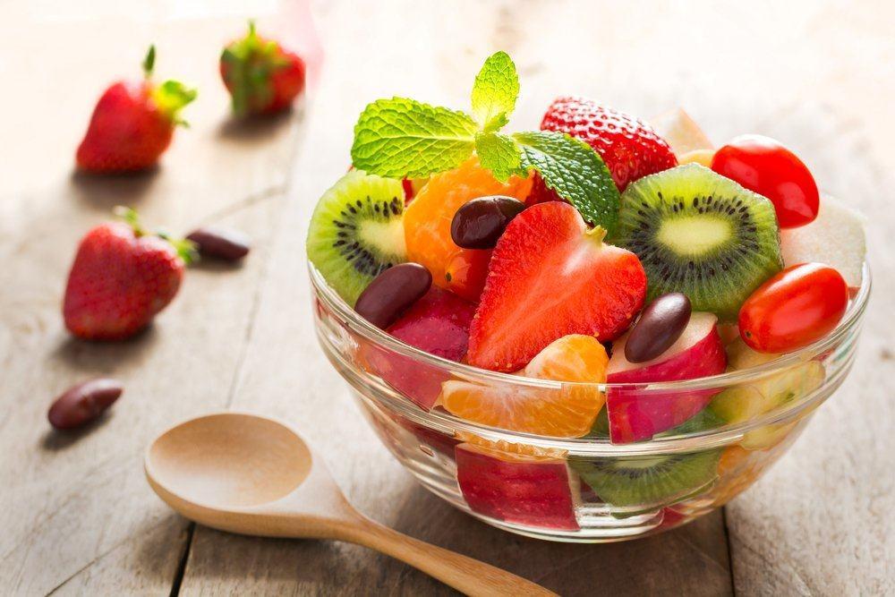 salad buah untuk diet makan siang