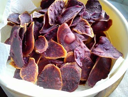 Resep ubi jalar ungu goreng
