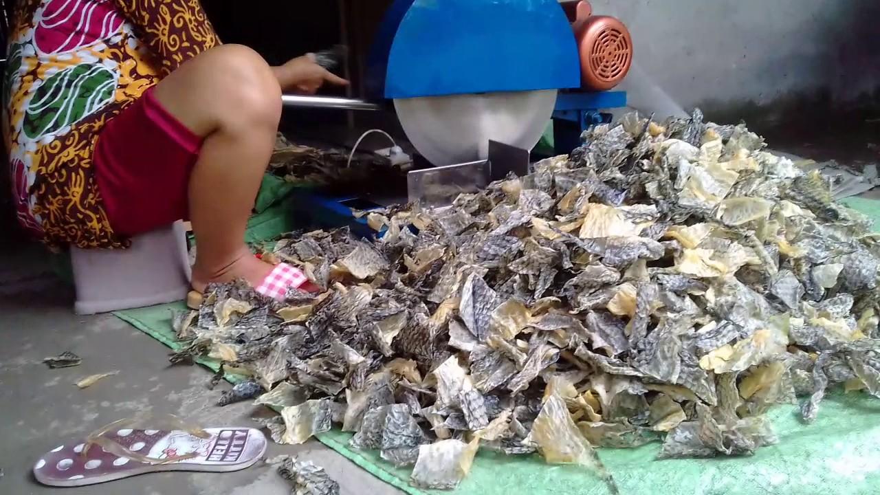 Cara Membuat Kerupuk Kulit Ikan Khas Indramayu