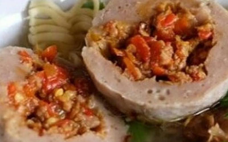 cara membuat bakso mercon