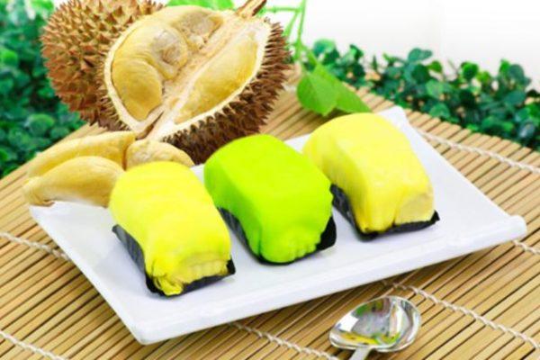 cara membuat pancake durian warna warni
