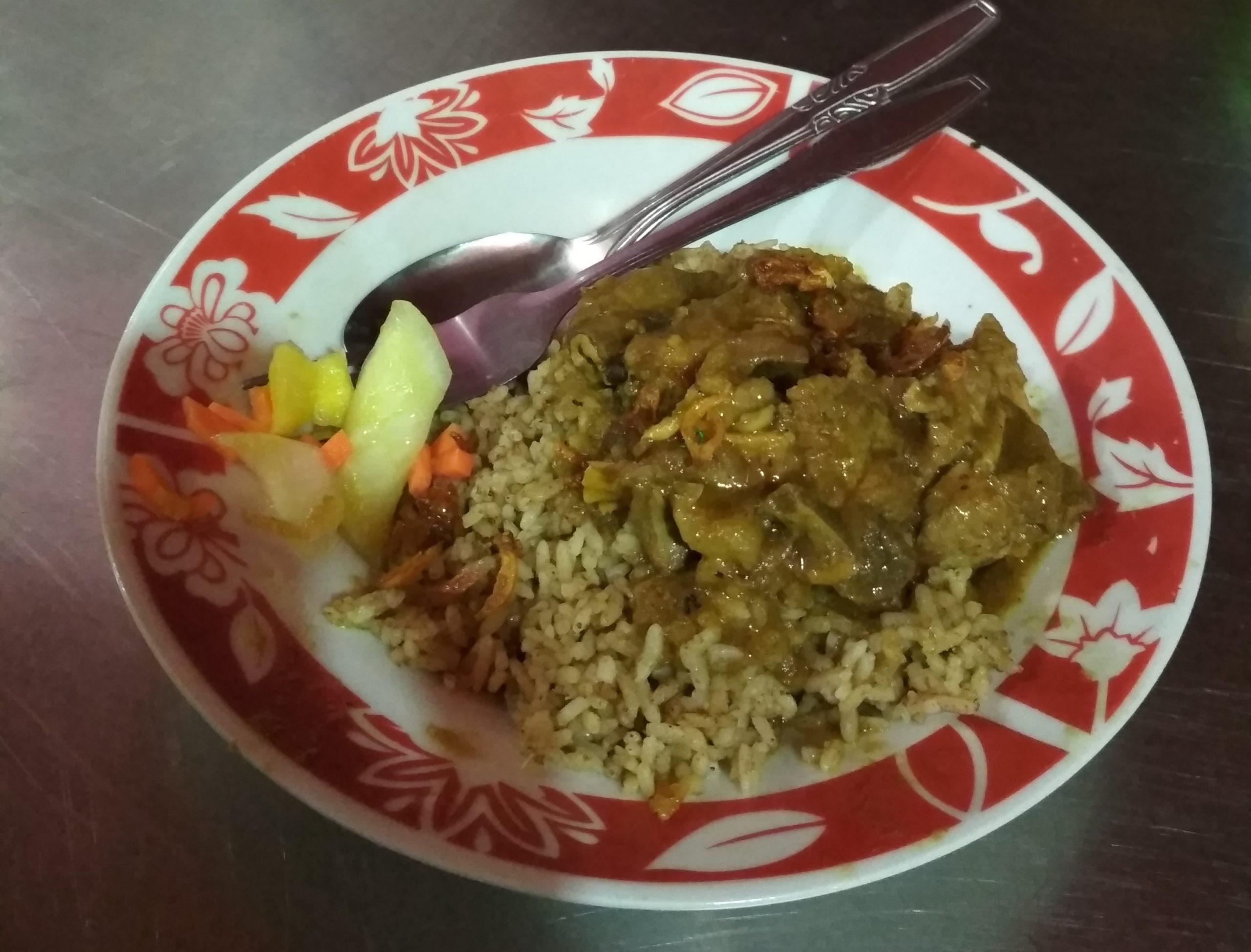 Cara bikin Nasi Kebuli