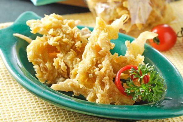 resep jamur crispy renyah