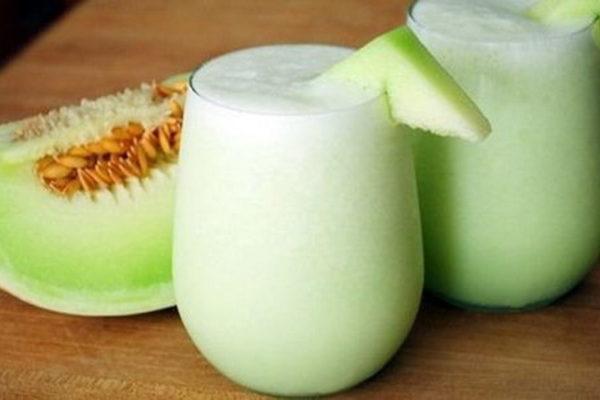 resep susu kedelai melon