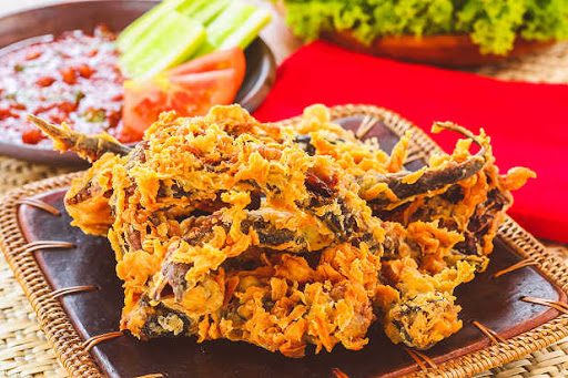 resep keripik belut crispy