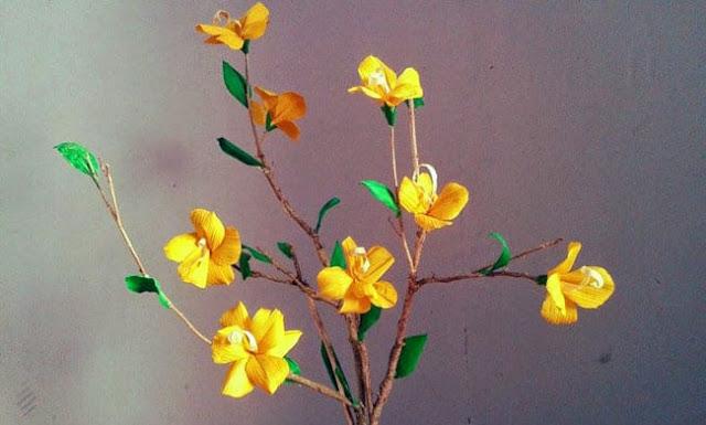 bunga dari kuli jagung