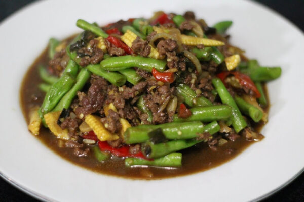 resep daging giling tumis